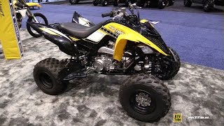 7. 2016 Yamaha Raptor 700R 60th Anniversary Sport ATV   Walkaround   Debut at 2015 AIMExpo Orlando