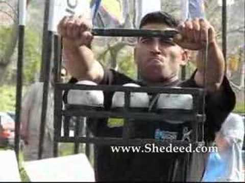 Egypt's Strongest Man 2007 final- Ahmed Attia II