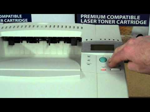 How To Reset Maintenance Count on an HP Laserjet 4000