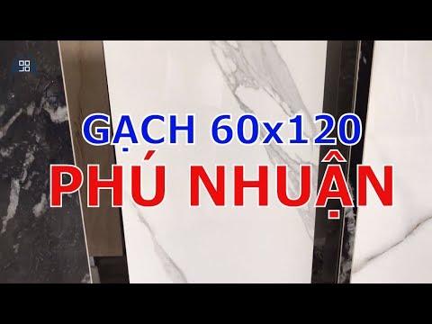 Gạch giả đá 60x120 Phú Nhuận|Gạch khổ lớn 600x1200 cao cấp giá rẻ.