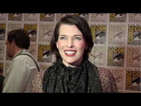 Milla Jovovich Talks 'Resident Evil: Retribution' At Comic-Con 2012