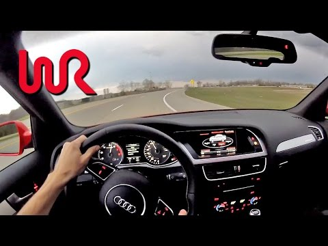2014 Audi S4 Quattro Manual – WR TV POV Test Drive 1/2