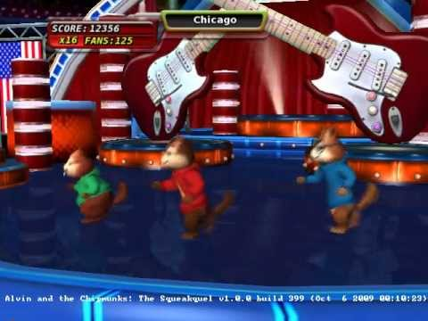 Alvin and The Chipmunks : The Squeakquel Wii