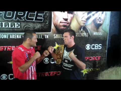 Dan Hendo Henderson vs Jake Shields Video Blog Part 1