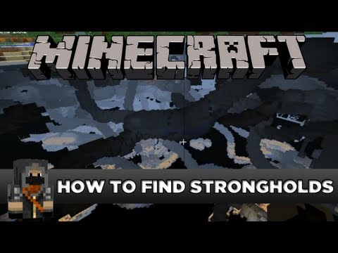 Minecraft - how to find strongholds [WITHOUT EYE OF ENDER]