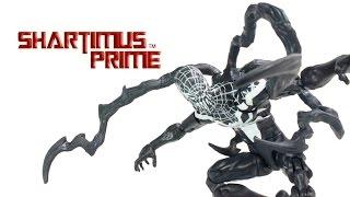 Marvel Legends Superior Venom 2015 Spider Man Rhino BAF Toy Action Figure Review