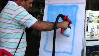 Pistola De Pintura Mini Compressor Terra Paint 350W - Depósito Zona Sul