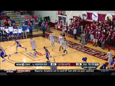 American Upsets No. 2 Colgate to Advance to 2015 Patriot League Championship