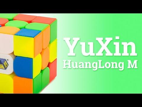 ПЕРВЫЙ ВЗГЛЯД НА YUXIN HUANGLONG и HUANGLONG M | ЮКСИН 3х3х3 ХУАНГЛОНГ М (видео)