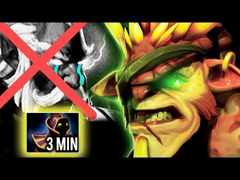 This Is How You Counter Magic Team by Bristleback 3 Min Hood of Defiance WTF Game Dota 2