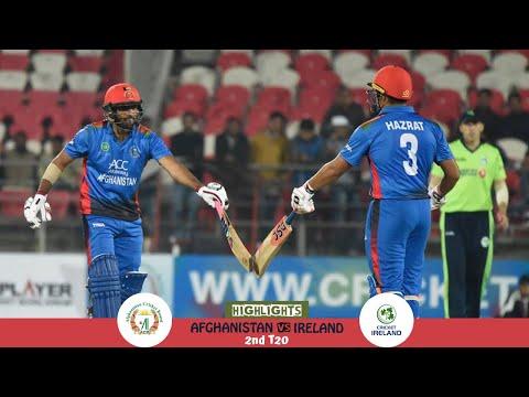 Highlights Afghanistan vs Ireland   2nd T20   Afghanistan vs Ireland in India 2019