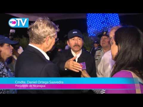 Presidente Daniel se reúne con el fundador de Operación Sonrisa