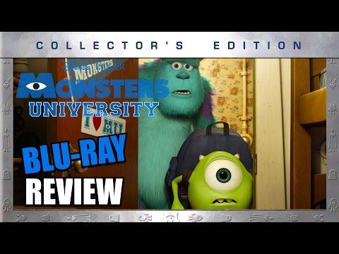Monsters University Blu-ray Review - Aficionados Chris