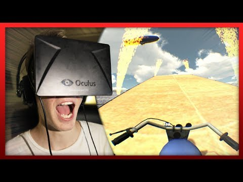 """""""STUNTING WITH THE RIFT!"""" – ( Oculus Rift Funny Moments )"""