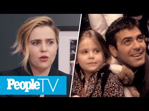 Mae Whitman Recalls George Clooney's Pranks On 'One Fine Day' | PeopleTV