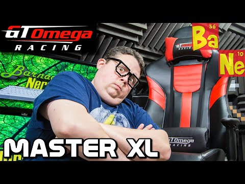 GT Omega MASTER XL Racing Office Chair : Ultimate Gaming Seat