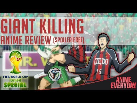 Giant Killing Anime Review - AnimeEveryday Anime Reviews