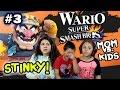 Mom Vs Kids Super Smash Bros 4 Wii U So Stinky W Wario