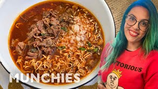 Mexican Birria & Japanese Ramen in One Dish by Munchies