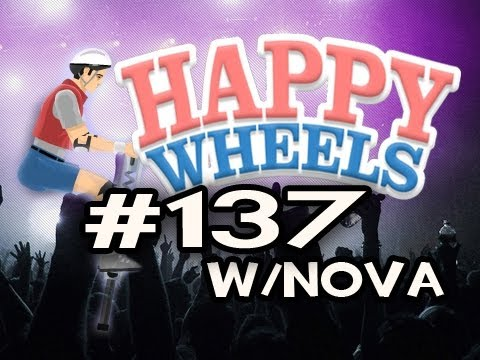 Happy Wheels w/Nova Ep.137 - BUNNY HOP (Nova In Happy Wheels!) Video