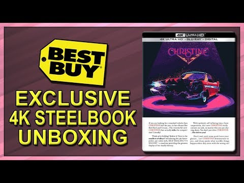 Christine (1983) Best Buy Exclusive 4K Ultra HD SteelBook Unboxing