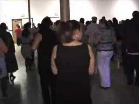 Gospel Line Dance video , coming to a Church Near You!