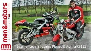 8. Learner Legal's: Cagiva Planet & Aprilia RS125 Review