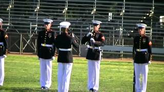 Rialto (CA) United States  city photos gallery : United States Marine Corps Silent Drill Platoon *Part 2* Rialto, CA - 3/4/12