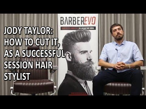 Hair salon - Jody Taylor: How To Cut It, As a successful Session Hair Stylist