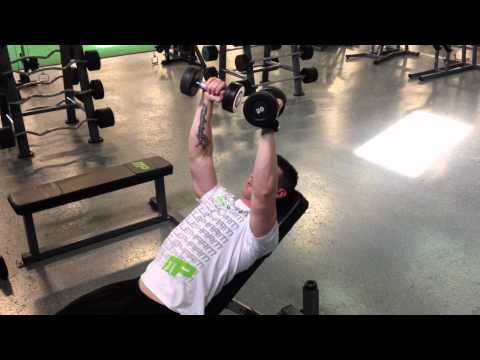 Incline Dumbbell Fly Quarter Rep Method