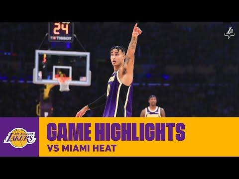 HIGHLIGHTS | Los Angeles Lakers vs. Miami Heat (11/8/19)