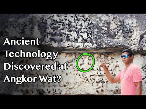 Oud instrument ontdekt in Angkor Wat? Bewijs van geavanceerde technologie