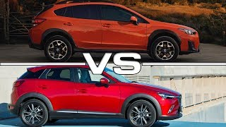 2018 Subaru Crosstrek vs 2017 Mazda CX-3Song: Reach The Sky [Rewind Remix Release]Music provided by Rewind Remix https://goo.gl/08ZthIArtist: SkEc