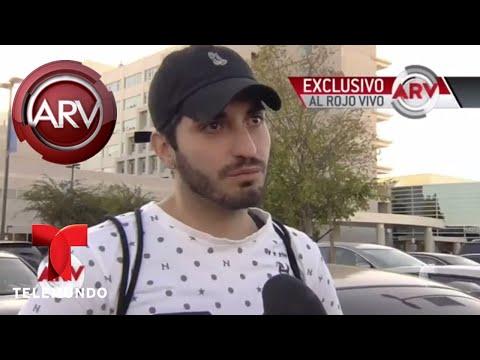 Eduardo Yáñez Jr. rompió en llanto al hablar de su padre | Al Rojo Vivo | Telemundo