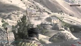 Arma 2 - Iron Sight Fal Snipe - 1 Shot
