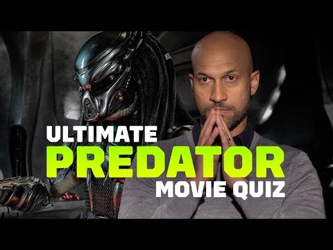 The Predator Cast Takes the Ultimate Predator Movie Quiz