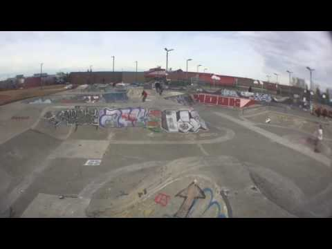 Ride day #2 at millwoods skatepark