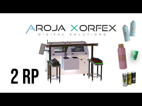 Digital inkjet printer for rotary and cylindrical objects | 2RP