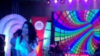 "watch neha kakkar performing live on ""blue hai pani pani"" song"
