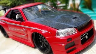 Nonton Amazing Transformation Nissan Skyline GTR R34 Fast and Furious Paul Walker (water slide decal) Film Subtitle Indonesia Streaming Movie Download