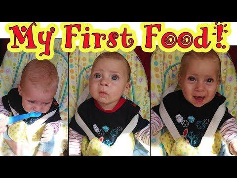 Перший прикорм Дениса | Первый прикорм кабачок | Baby's First Foods | Babasiky