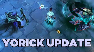 LoL Yorick Update & Ability Rework Spotlight Yorick upgrade abilities info: http://na.leagueoflegends.com/en/featured/yorick-champion-update PASSIVE: SHEPHER...
