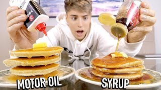 i tested food hacks used in TV COMMERCIALS !!!