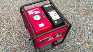 5. Honda EB3000c 3000 Watt 6.5 HP Generator