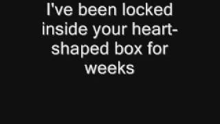 Hey guys, i am finally back, it's been months since i made a new video. This is Nirvana Heart-Shaped Box This is what's cool about my lyrics videos. I listen to the ...