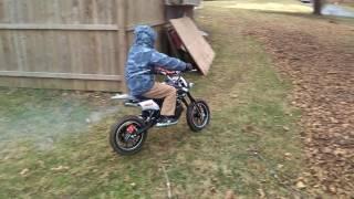 6. Ssr Pit Bike sx50 no gear motercylcle