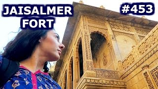 Jaisalmer India  city photos gallery : INDIAN THALI & FORT | JAISALMER DAY 453 | INDIA | TRAVEL VLOG IV