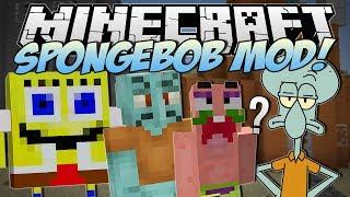 Minecraft | SPONGEBOB MOD! (I Saved Bikini Bottom!) | Mod Showcase