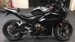 6. 2016 Honda CBR500R Coffman Exhaust
