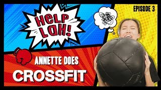 Video HELP LAH! Ep 3: Annette does CROSSFIT (and a Special Challenge)! MP3, 3GP, MP4, WEBM, AVI, FLV Oktober 2018